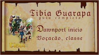 Download Como jogar Tibia começo (11) Escolhendo vocação, classe em Dawnport Video
