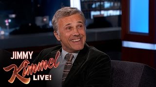Download Christoph Waltz on His Friendship with Quentin Tarantino Video