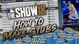 Download How to Make Stubs Fast in MLB The Show 18 (Tips & Tutorial) Video