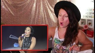 Download Vocal Coach REACTS to DEMI LOVATO'S- BEST LIVE VOCALS Video