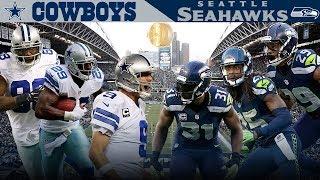 Download Dallas' Big 3 Takes on the Legion of Boom! (Cowboys vs. Seahawks, 2014) | NFL Vault Highlights Video