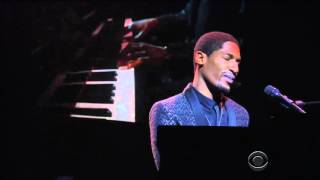 Download Jon Batiste Performing Blackbird - 09 FEB 2016 Video