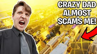 Download Crazy Dad Scams Himself! (Scammer Gets Scammed) Fortnite Save The World Video
