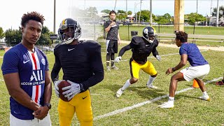 Download I TRIED TO COVER THE NFL'S BEST WIDE RECEIVER.. (1ON1'S AGAINST ANTONIO BROWN) Video