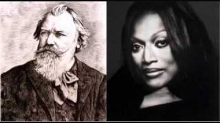 Download Jessye Norman sings Brahms - Geistliches Wiegenlied, from Two Songs, Op. 91 (2/2) Video
