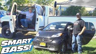 Download SMART Car... DIESEL Bass! 2001 Dodge Cummins Sound System | 16 12″ Subwoofers & 165db SPL Install Video