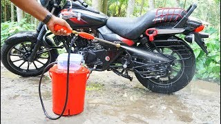 Download How to Make Portable Bike / Car Washer Video