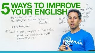 Download 5 great ways to improve your English! Video