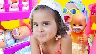 Download Oyuncak bebek bakma oyunları. Kız videoları Video