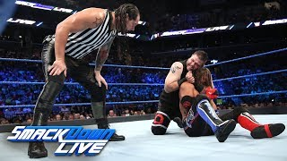 Download Styles vs. Owens - U.S. Title Match w/ Special Guest Ref Baron Corbin: SmackDown LIVE, Aug. 22, 2017 Video