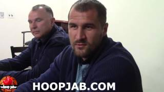 Download Sergey Kovalev on sparring with Gennady Golovkin & Andre Ward vs Gennady Golovkin. HoopJab Video