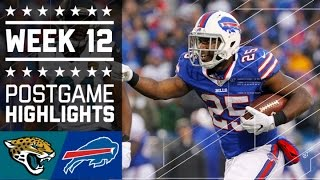 Download Jaguars vs. Bills | NFL Week 12 Game Highlights Video