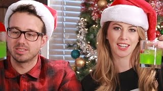 Download People Try Holiday Cocktails Video