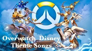 Download If Overwatch Characters had Disney Theme Songs Video