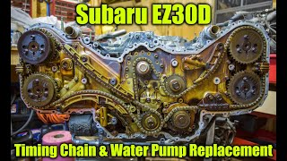 Download Subaru EZ30 Timing Chain and Water Pump Replacement Video