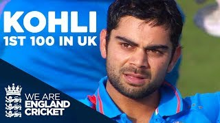 Download Virat Kohli's 1st Hundred In The UK | England v India 2011 - Highlights Video
