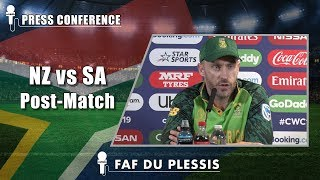 Download Defeat brought back memories of semifinal loss at Auckland - Faf du Plessis Video