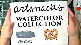 Download ARTSNACKS - Watercolor Collection 2017 Video