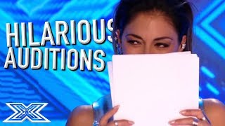 Download JUDGES Can't Stop LAUGHING on The X Factor! | X Factor Global Video