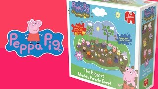 Download Peppa Pig Biggest Muddy Puddle Puzzle Video