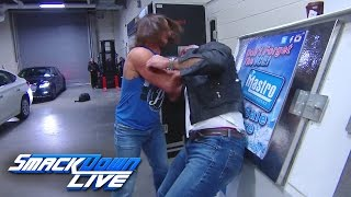 Download AJ Styles hurls Shane McMahon through a car window: SmackDown LIVE, March 14, 2017 Video