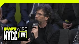 Download Good Omens Cast On Franchises And Fandom | NYCC 2018 | SYFY WIRE Video