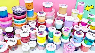 Download SLIME COLLECTION Declutter! BIGGEST Slime Collection Video