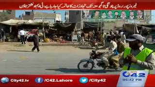 Download Traffic Police and Nishtar Town administrative action against encroachments Video
