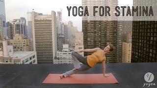 Download Yoga Stamina Routine: Persevere & Grow (open level) Video