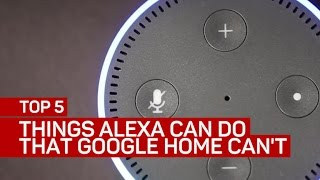 Download Top 5 things Amazon's Alexa can do that Google Home can't Video
