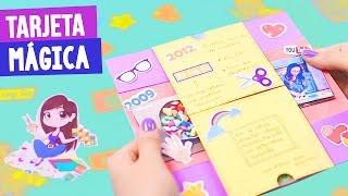 Download TARJETA MÁGICA DE CUMPLEAÑOS + MI HISTORIA DE YOUTUBE - Semana Crafty ✎ Craftingeek Video