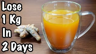 Download Turmeric Tea Recipe For Weight Loss (Thyroid Tea)   Lose 1Kg In 2 Days Video