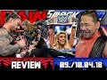 Download WWE RAW vs. SmackDown Review - LIVE-EINDRÜCKE - 09./10.04.18 (Deutsch/German) Video