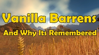 Download Vanilla Barrens And Why Its Remembered - WCmini Facts Video