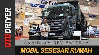 Download Hyundai Xcient 6x4 2018 Indonesia | First Impression | OtoDriver Video