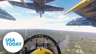 Download Experience the Blue Angels in 360-degree video Video