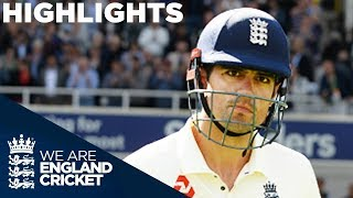 Download India Dominate Despite Cook's 71 | England v India 5th Test Day 1 2018 - Highlights Video