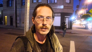 Download Homeless man talks openly about being addicted to heroin. We have an opioid crisis in America. Video