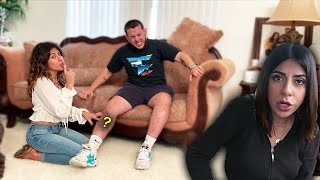 Download You won't believe what she did to him on camera... Video