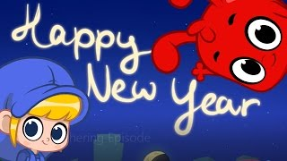 Download Happy New Year Cartoon For Kids - With Morphle Video
