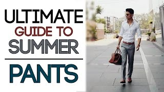 Download ULTIMATE SUMMER PANTS for Men | CHINOS/KHAKI STYLING GUIDE | Mayank Bhattacharya Video