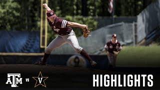 Download Baseball: Highlights   A&M 3, Vanderbilt 1 Video