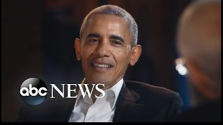 Download Obama's first talk show appearance since leaving office Video