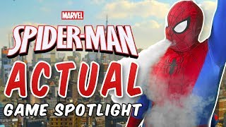 Download Spider-Man ACTUAL Game Spotlight Video