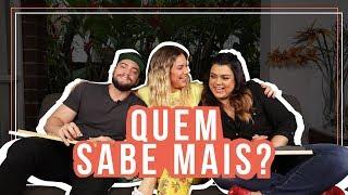 Download QUEM SABE MAIS? PRETA GIL X RODRIGO GODOY l GIOH Video