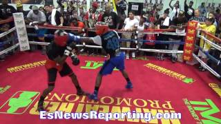 Download floyd mayweather letting hands go in sparring round 3 EsNews Video