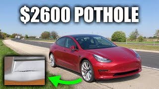 Download Hitting A Pothole In A Tesla Cost $2600 Video