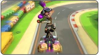 Download Mario Kart 8 Deluxe - All Characters Stunts Video