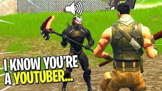 Download KID CAUGHT ME PRETENDING TO BE A FAKE NOOB ON FORTNITE! (He Tried To Help Me Win) Video