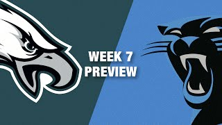 Download Eagles vs. Panthers Preview (Week 7) | NFL Video